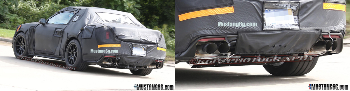 2015 SVT Mustang: Spy Photos Released! (S550) - 2015 Mustang SVT Cobra Spy Shots