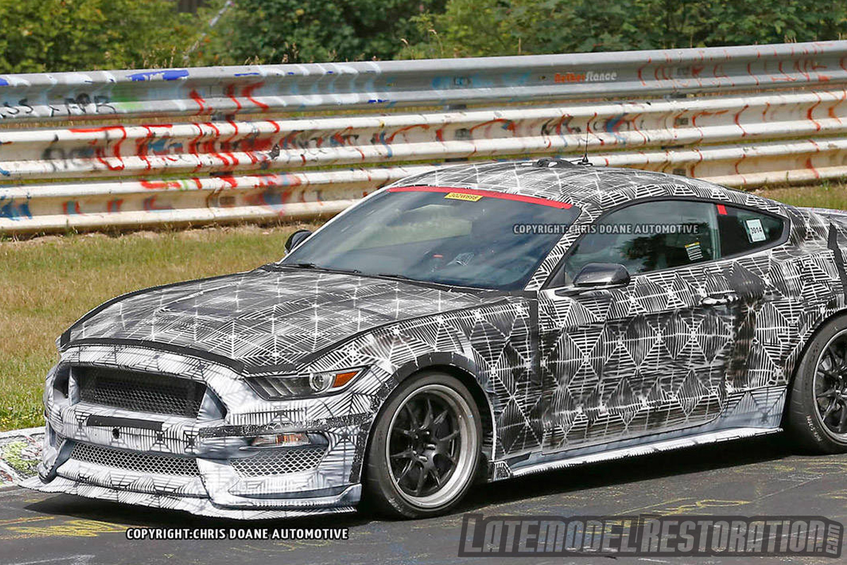 Is The 2016 Mustang Gt350r New Cobra R Gt350 Nurburgring