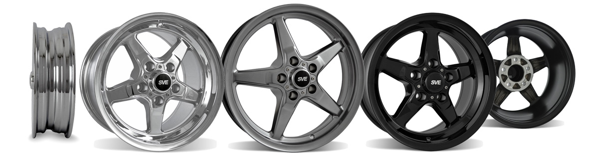 94-14 Mustang SVE Drag Wheels - SVE Drag wheels