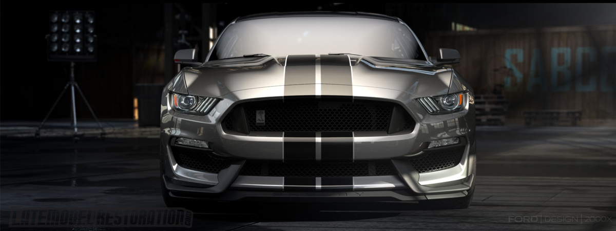 2016 Shelby GT350 Mustang Revealed (S550) - Shelby GT350 Mustang Front Grille