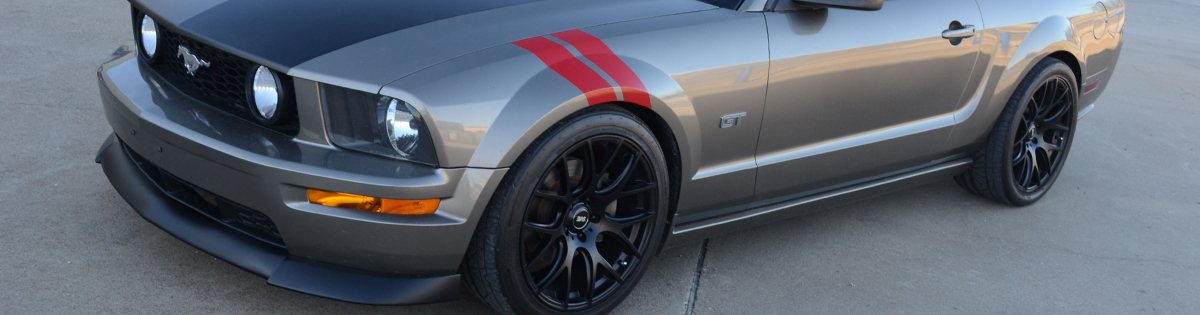 SVE Mustang Decals & Stripes - SVE Mustang Decals & Stripes